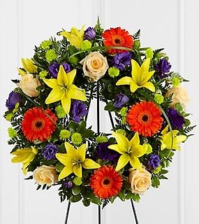 Radiant Remembrance™ Wreath